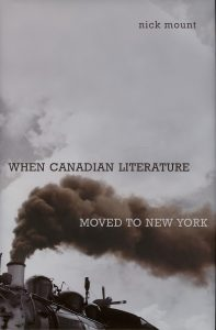 cover of When Canadian Literature Moved to New York